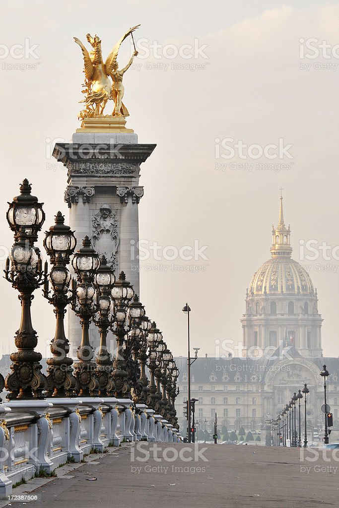 Paris Postcard royalty-free stock photo