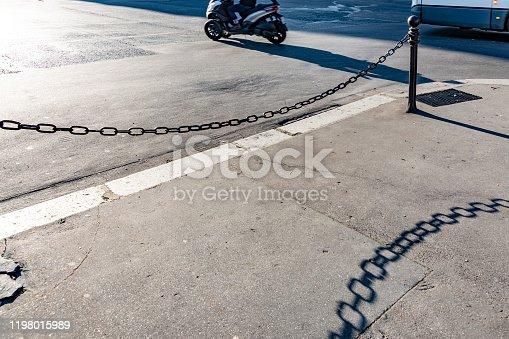 2019 Paris road and shadows