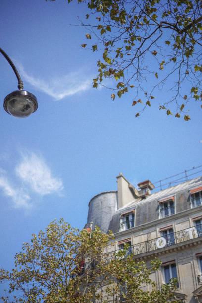 Paris roofscape stock photo