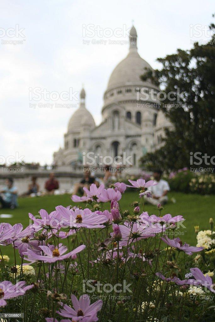 Paris - Sacre Coeur, France royalty-free stock photo