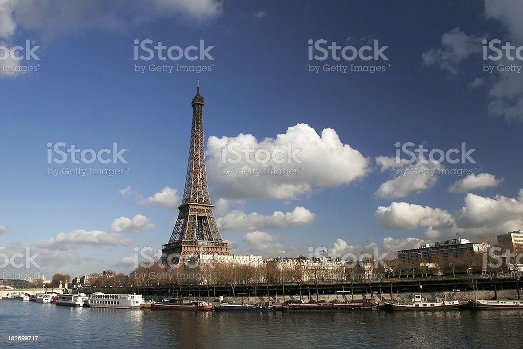 Paris Scenic stock photo