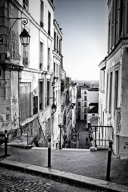 Paysage urbain de Paris de Montmartre - Photo