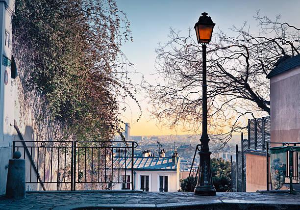 Toits de Paris de Montmartre vu - Photo