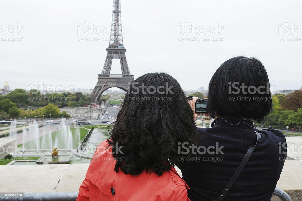 Paris Snapshot - XLarge royalty-free stock photo