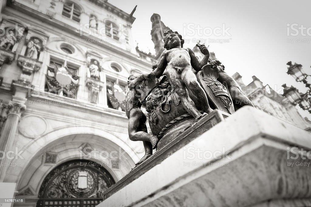 Paris-Statuen – Foto