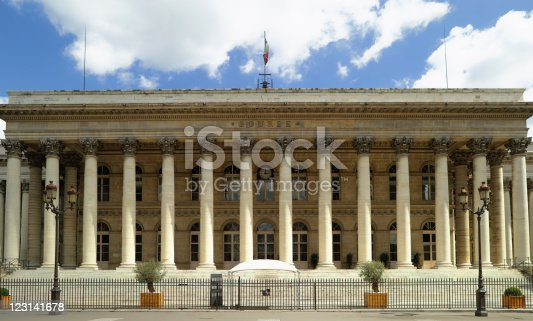 France - Paris - stock exchange building