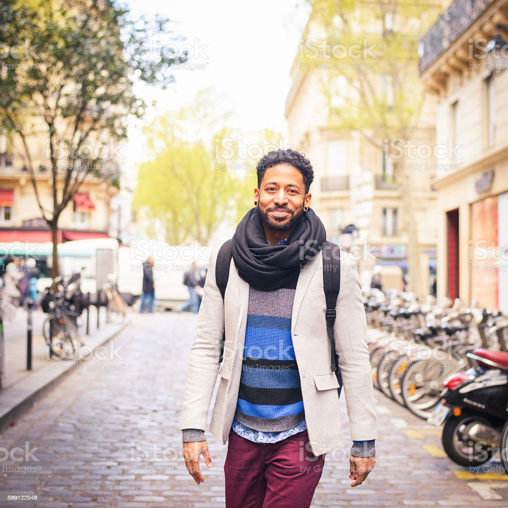 Paris Street Fashion stock photo