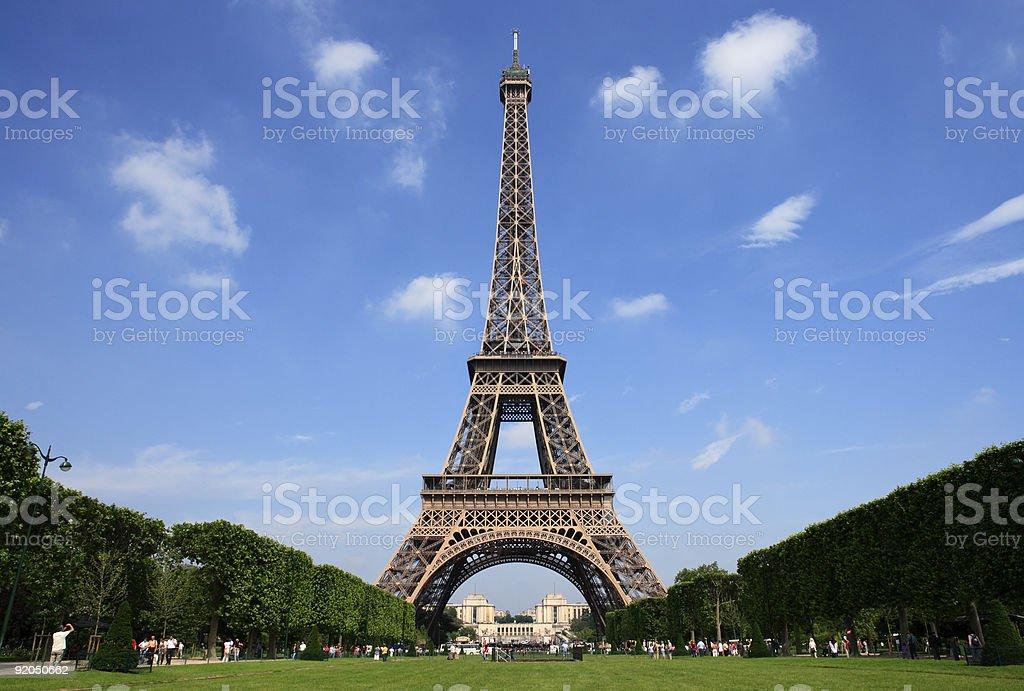 Paris - the Eiffel Tower stock photo