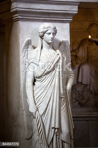 868668568 istock photo Paris - The National Residence of the Invalids. The angel at the tomb of Napoleon 644347270