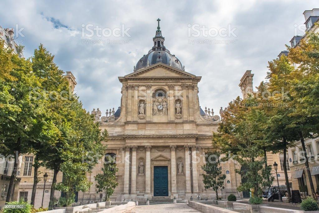 Paris, the Sorbonne university stock photo