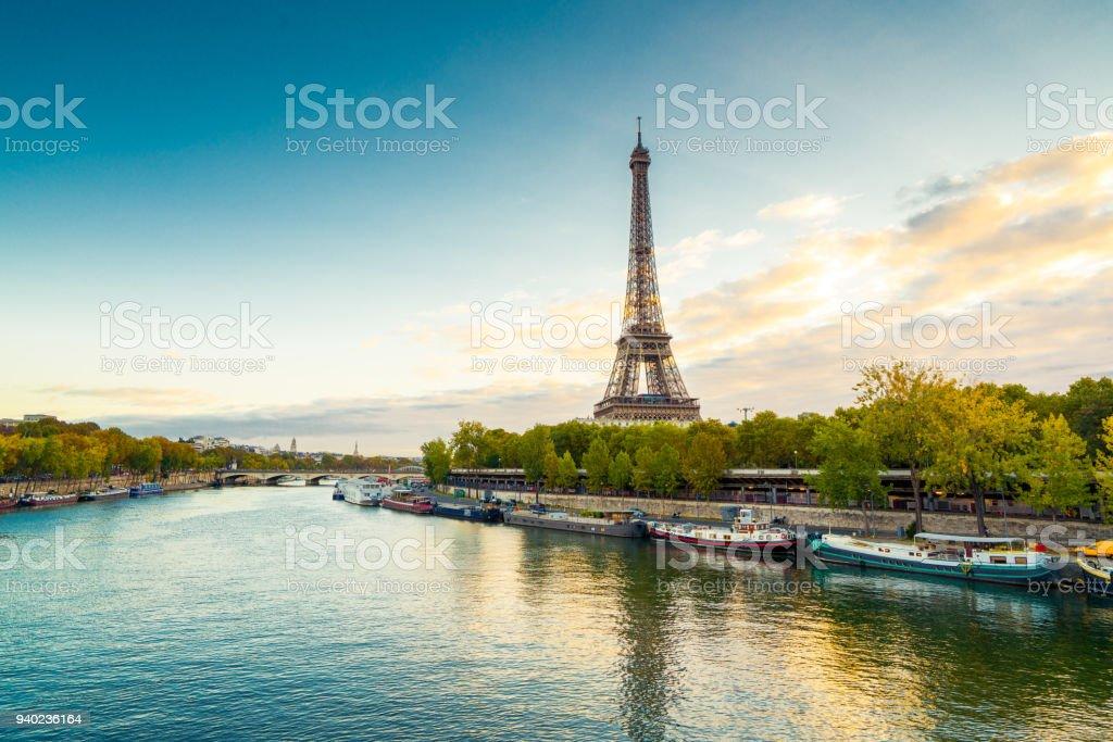 Paris Tour Eiffel - Lizenzfrei Architektur Stock-Foto