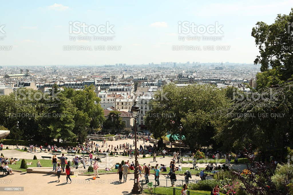 Paris View royalty-free stock photo