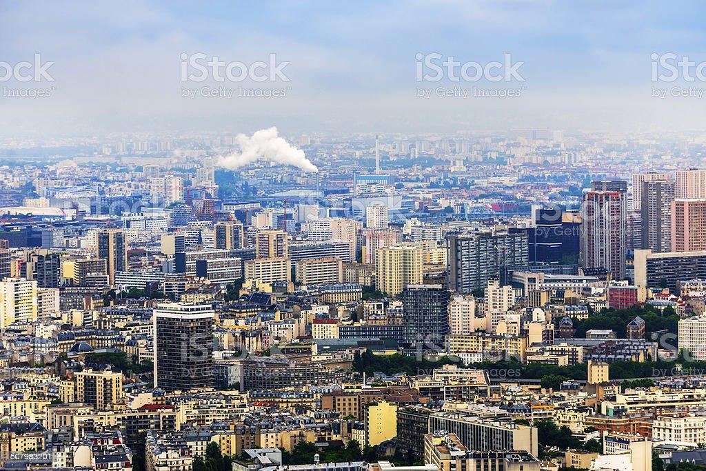 Paris view royalty-free stock photo