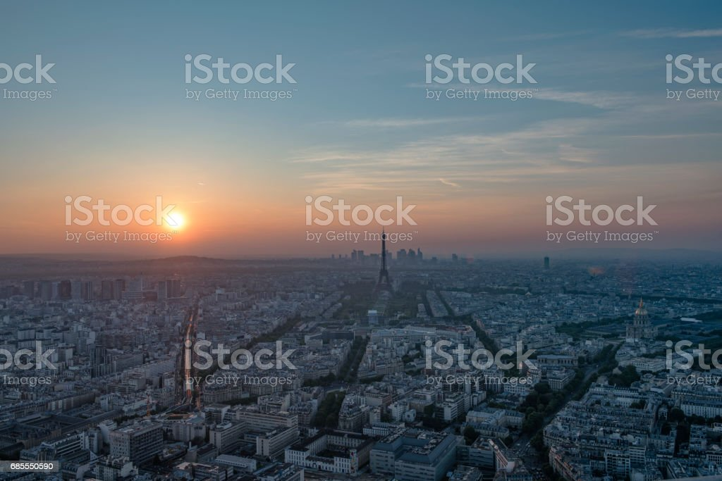 Paris view 免版稅 stock photo