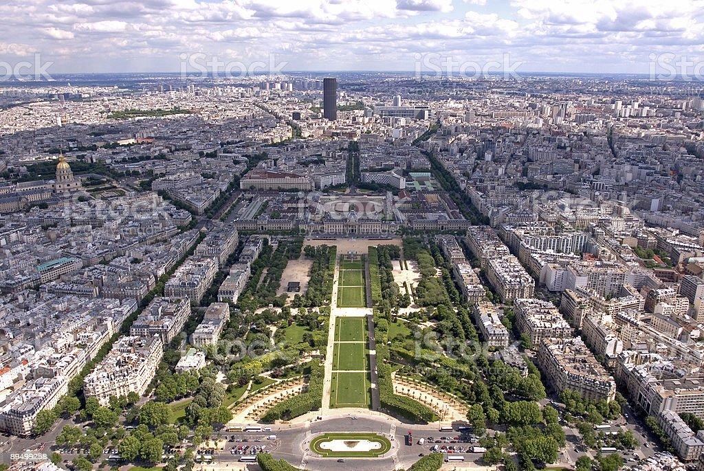 Vista di Parigi foto stock royalty-free