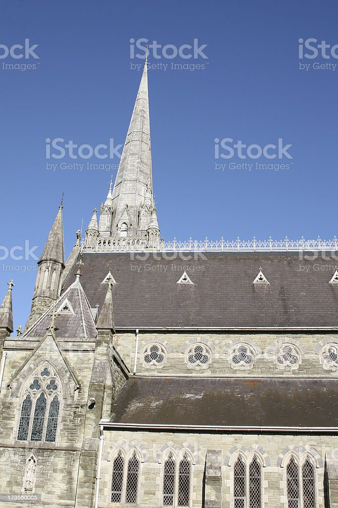 Parish Catholic Church, in Irish town of Clonakilty stock photo