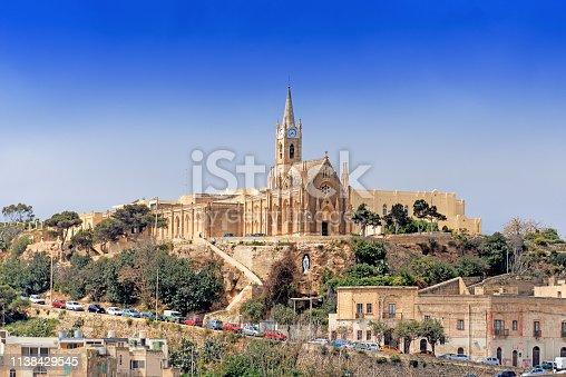 istock Parish church in Mgarr on Gozo Island Malta 1138429545