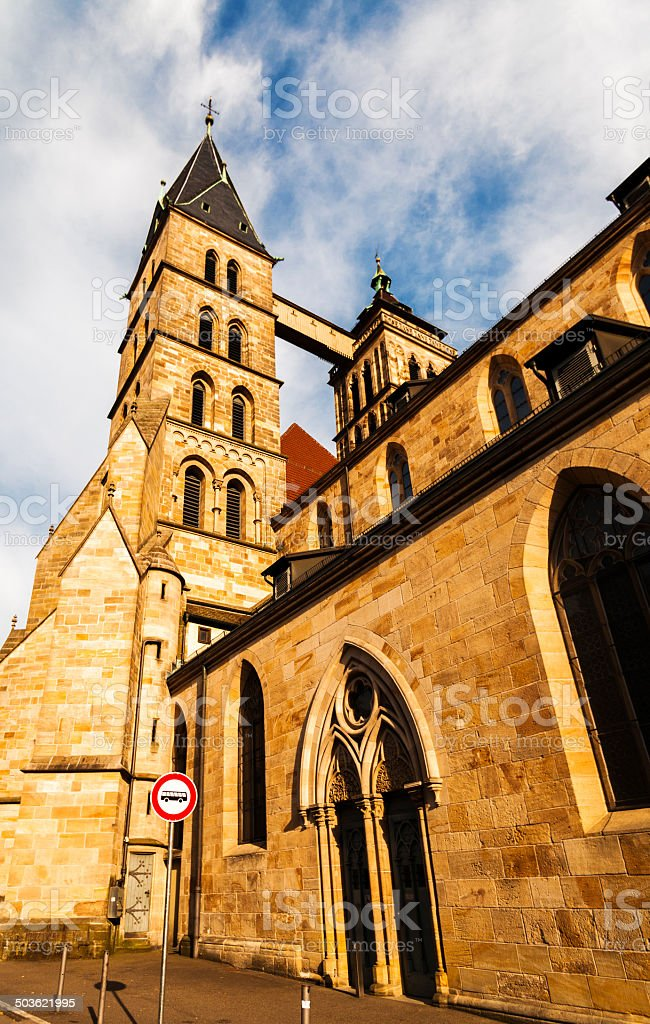 Parish Church of St. Dionysius stock photo