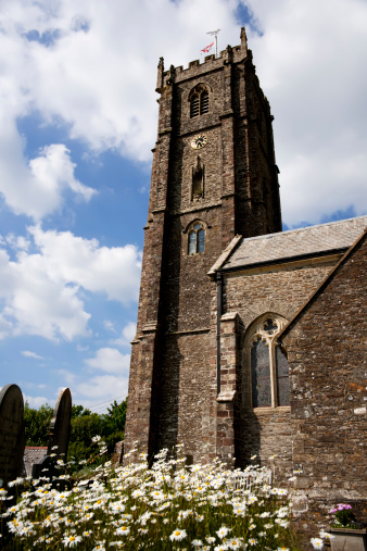 A parish church in a devon village