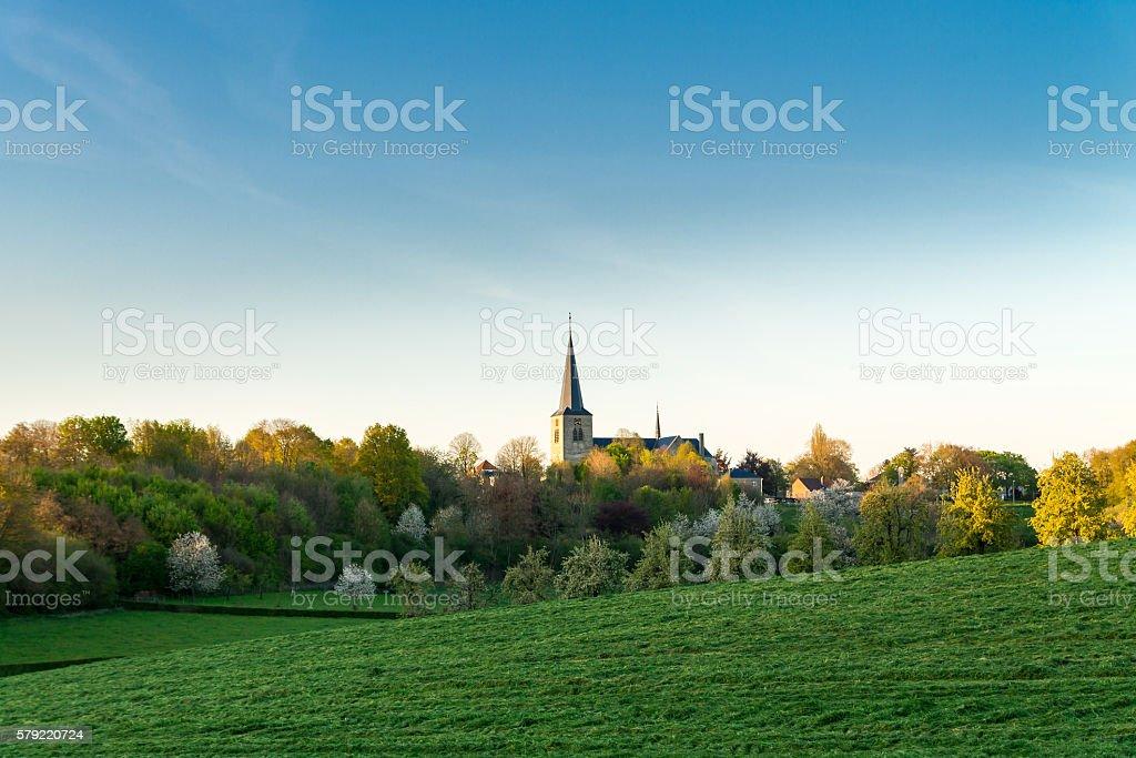 Parish in the evening sun. – Foto