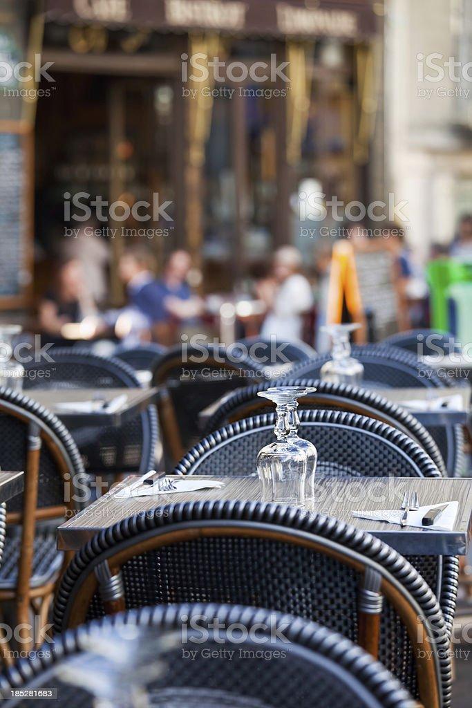 Parisian Cafe Style stock photo