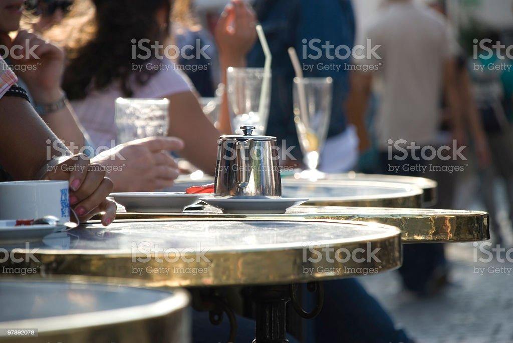 Parisian life royalty-free stock photo
