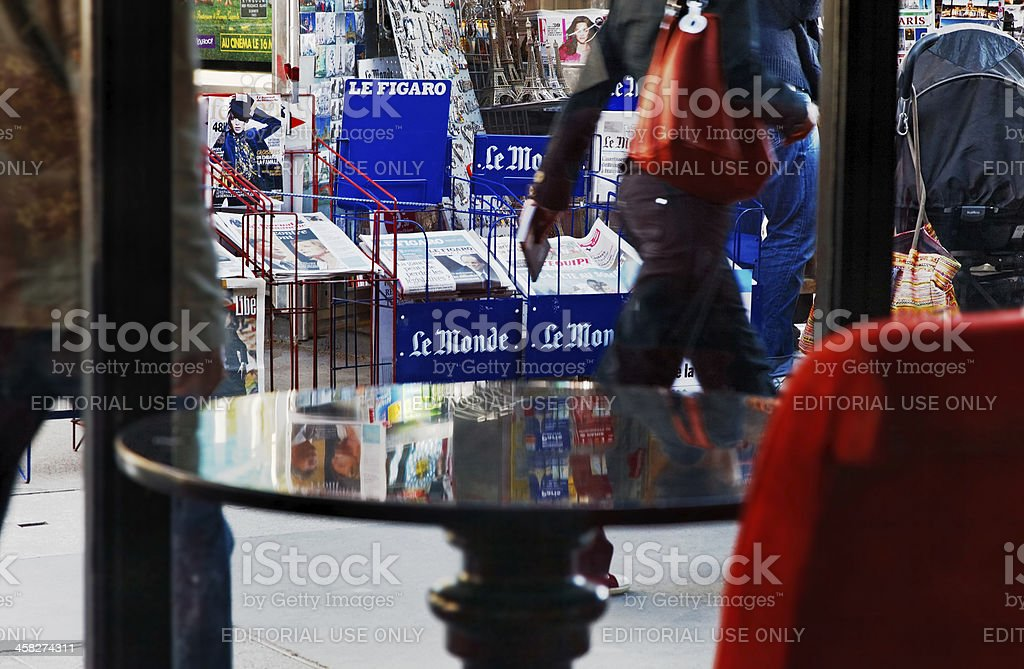 Parisian Lifestyle Abstract royalty-free stock photo
