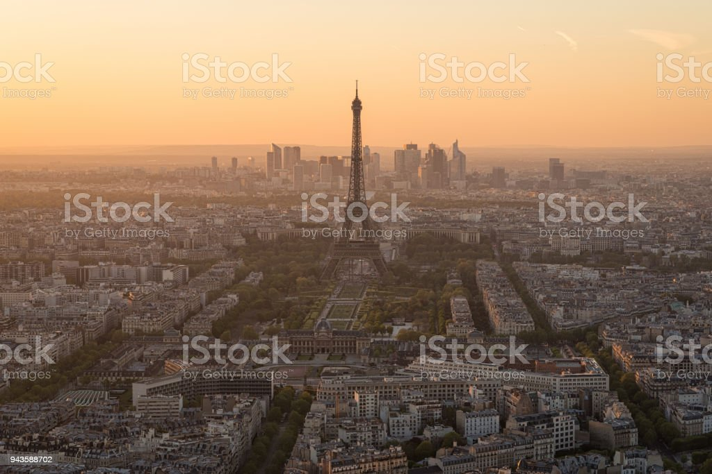 Parisian Orange stock photo