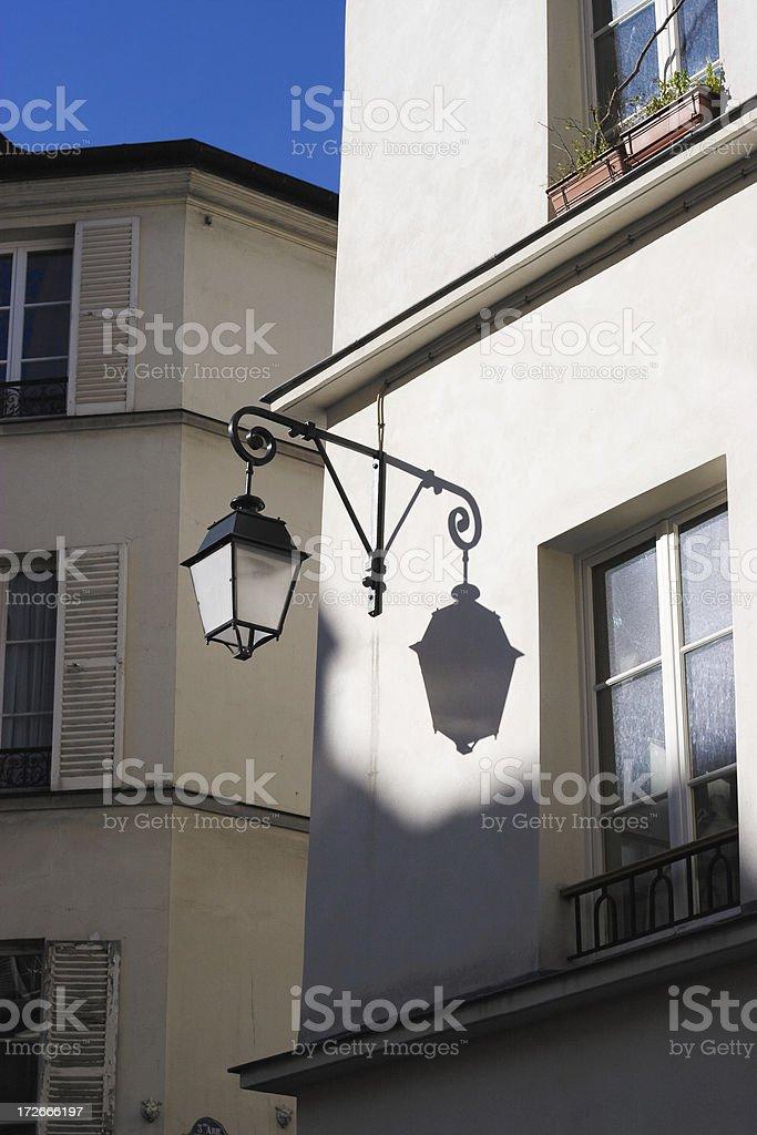 Parisian Streetlight royalty-free stock photo