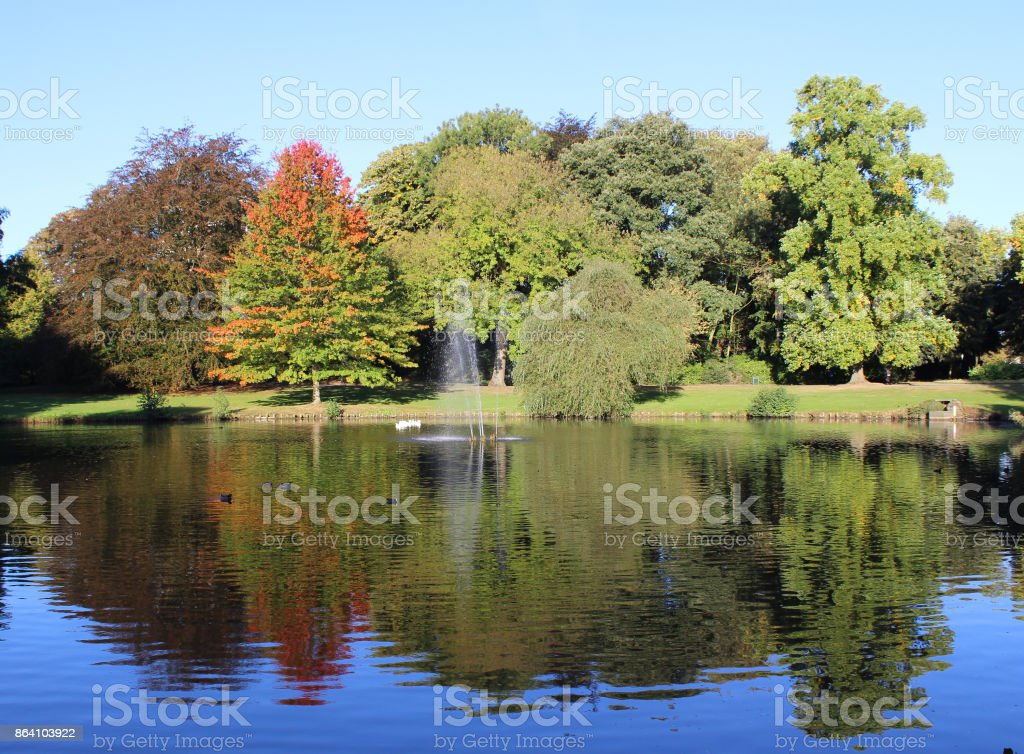 Park, Aalst royalty-free stock photo