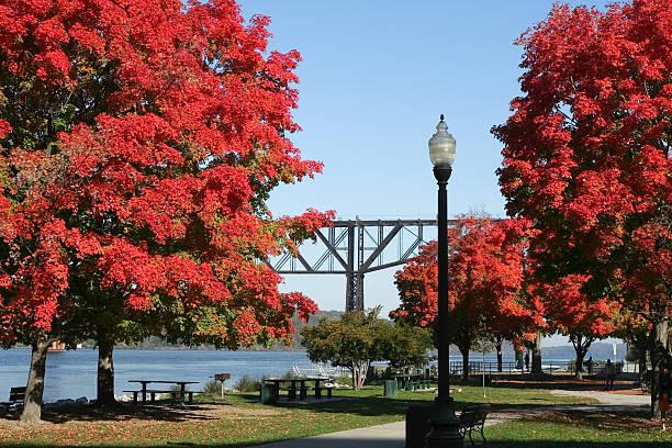 Park Along the Hudson River