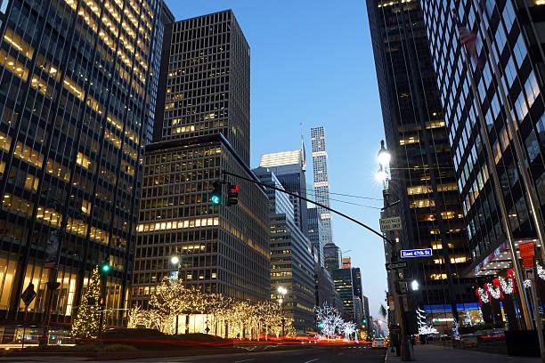 Park Avenue During Christmas – Foto