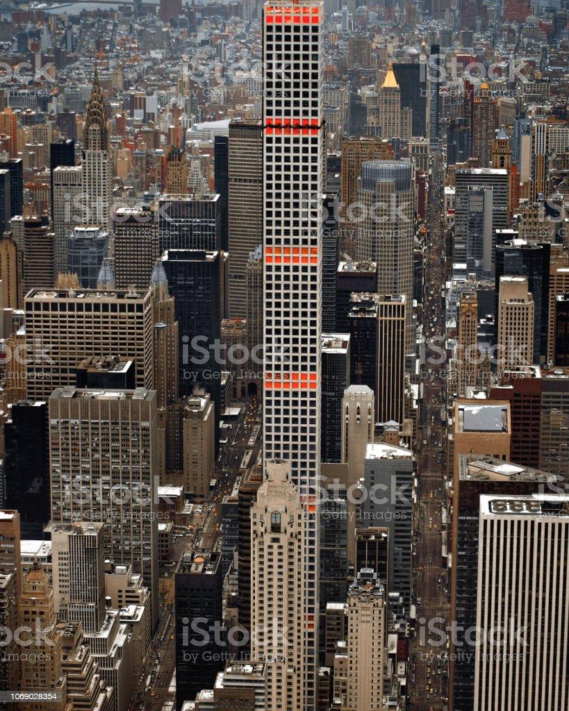 432 Park Avenue, Manhattan, New York stock photo