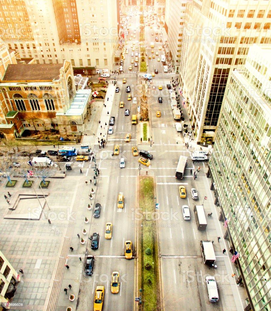 Parque avenida, ciudad de Nueva York - foto de stock