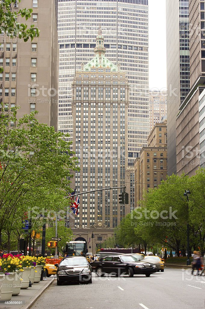 Park Avenue, NY royalty-free stock photo