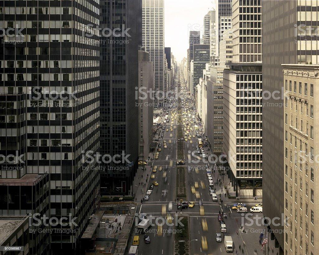 Park Avenue, NYC royalty-free stock photo