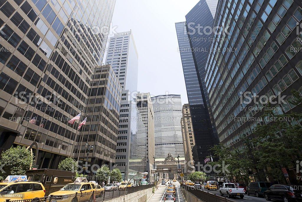 park avenue royalty-free stock photo