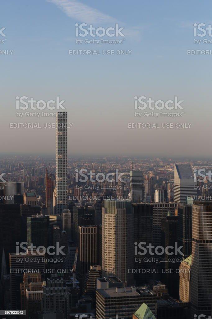 432 Park Avenuebuilding. America, New York City - May 13, 2017 stock photo
