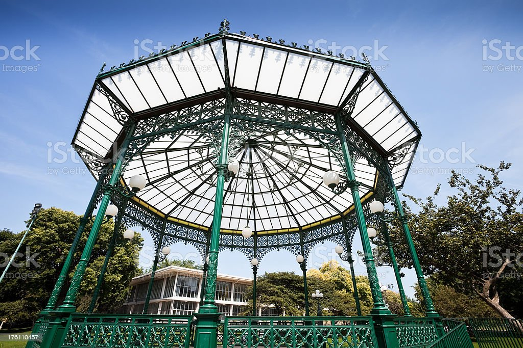Park Bandstand Chicago North Side royalty-free stock photo