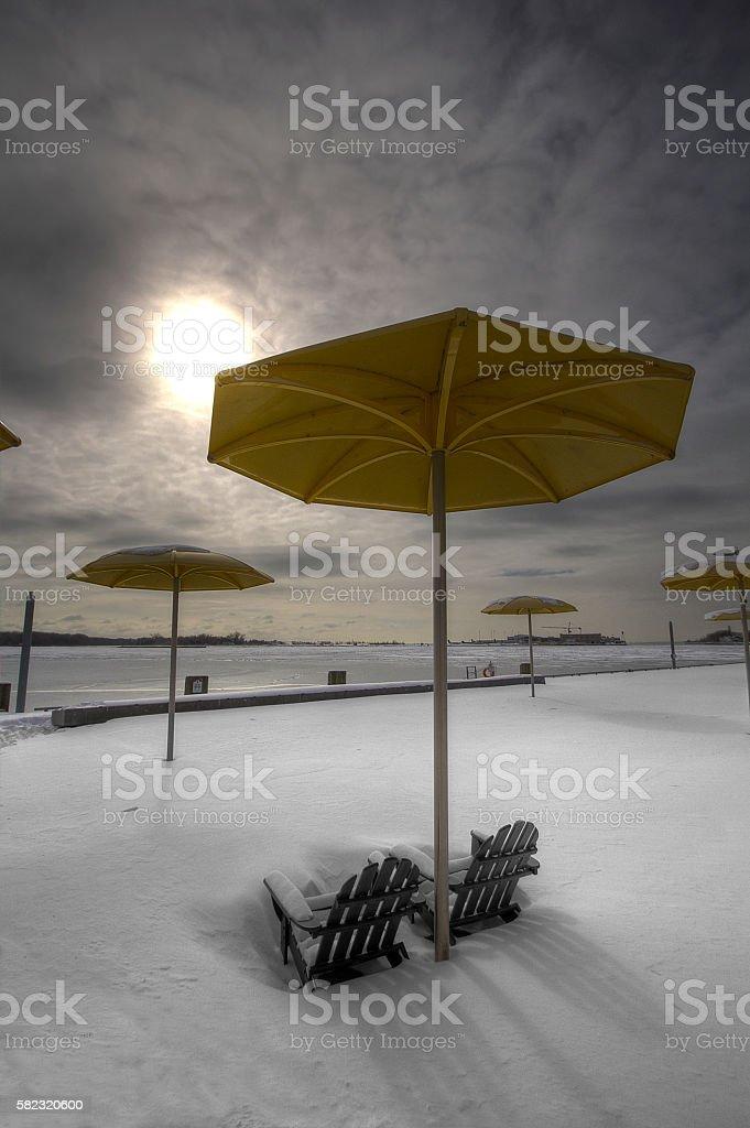HTO Park Beach stock photo