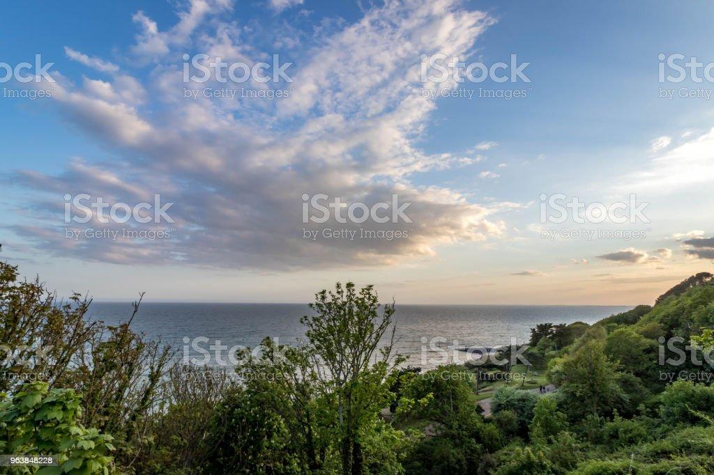 Park by the Sea - Royalty-free Coastline Stock Photo