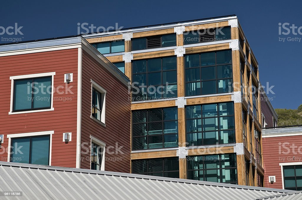 Park City architettura foto stock royalty-free