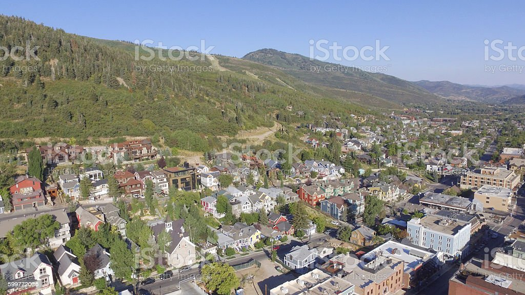 Park City from Above stock photo
