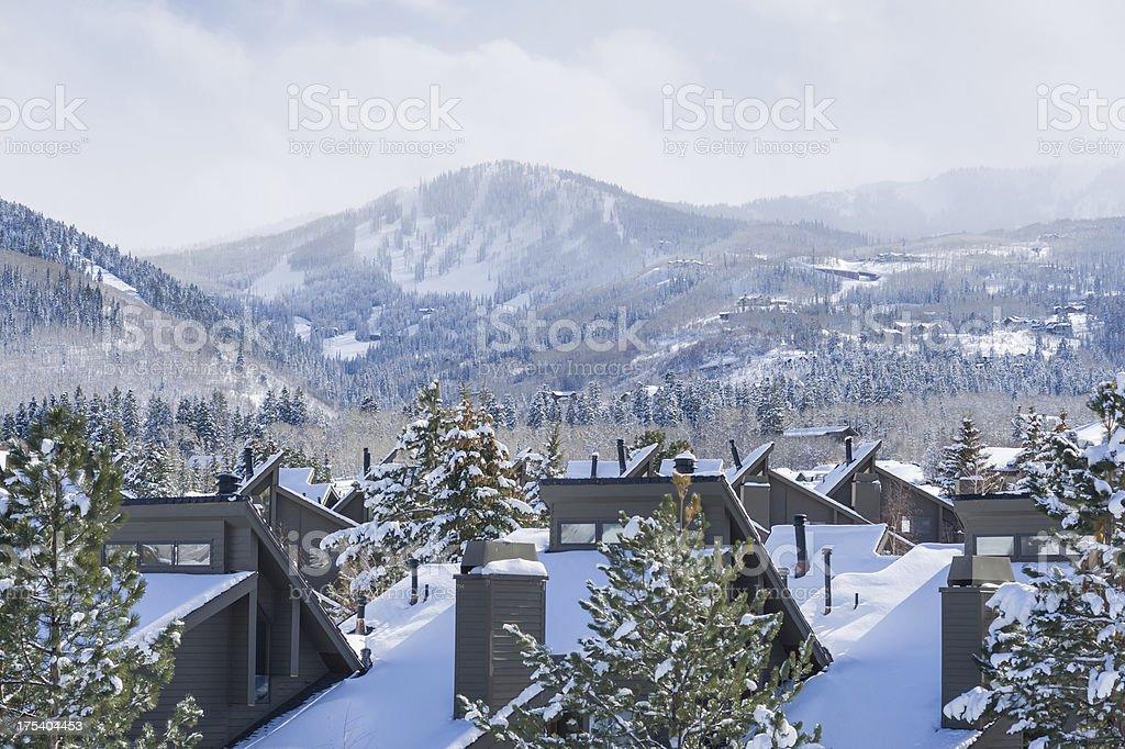 Park City Mountain View stock photo