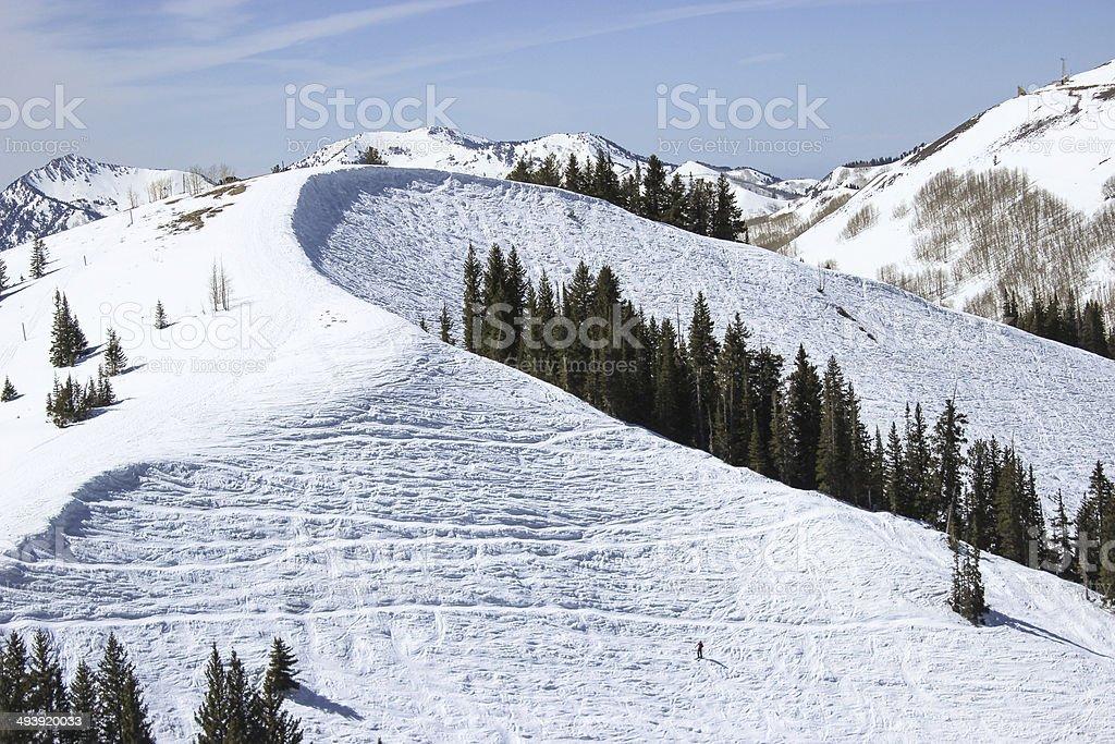 Park City Skiing Bowl stock photo