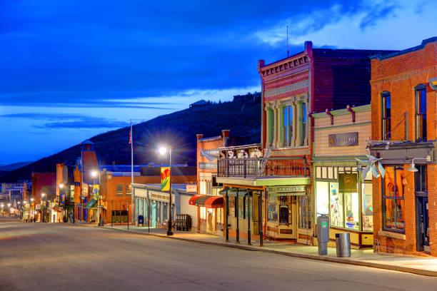 Park City, Utah stock photo