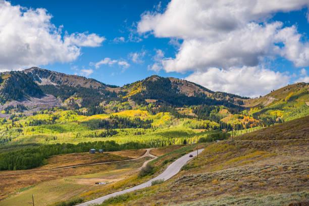 Park City, Utah Scenery stock photo