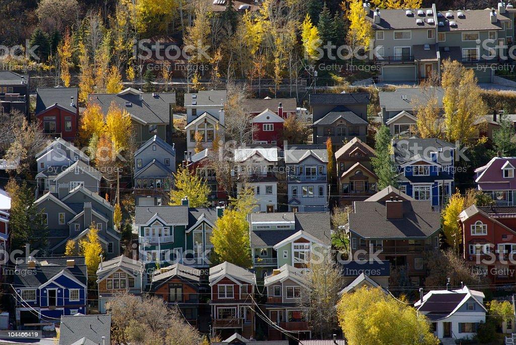Park City Village stock photo