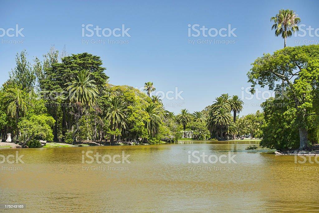 Park De Palermo royalty-free stock photo