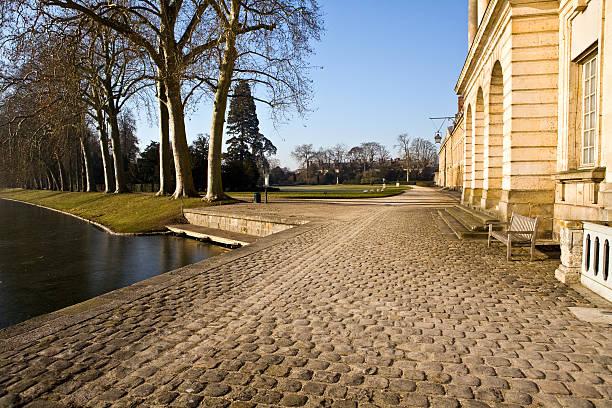 Park Fontainbleau stock photo